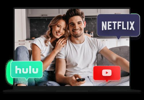 VPN للبث